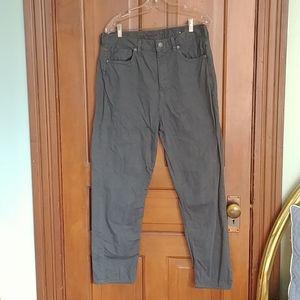 AEO Green Mom Jeans